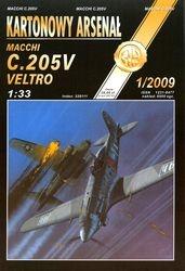 Журнал Журнал Macchi C.205V Veltro-Halinski Kartonowy Arsenal (1`2009)