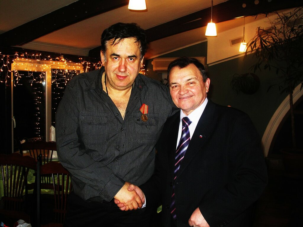 С послом Чувашии Анатолием Григорьевым