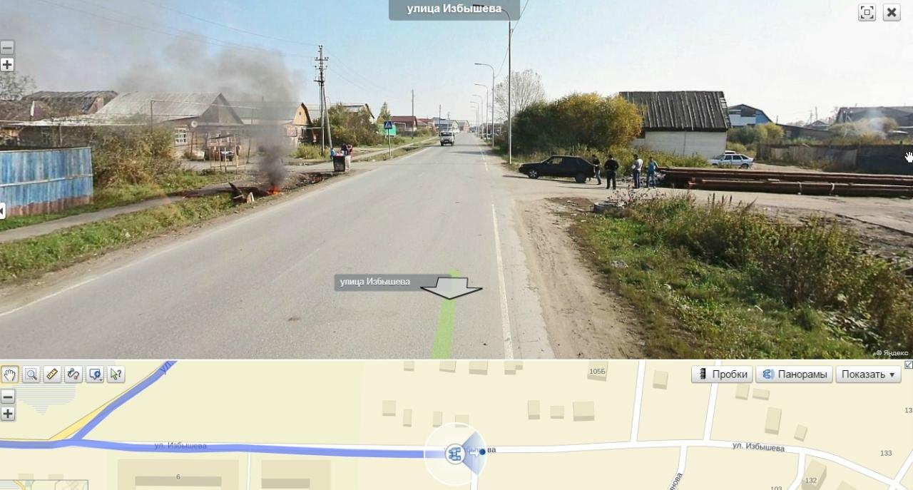 На Яндекс. Картах появились новые панорамы Тюмени 2