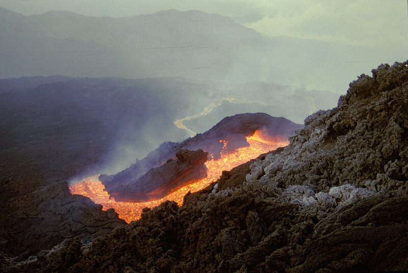 20 потрясающих фотографий лавы