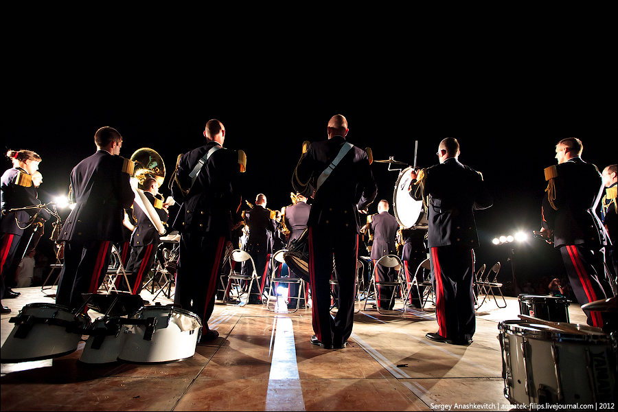 Гала-концерт Military Tattoo 2012