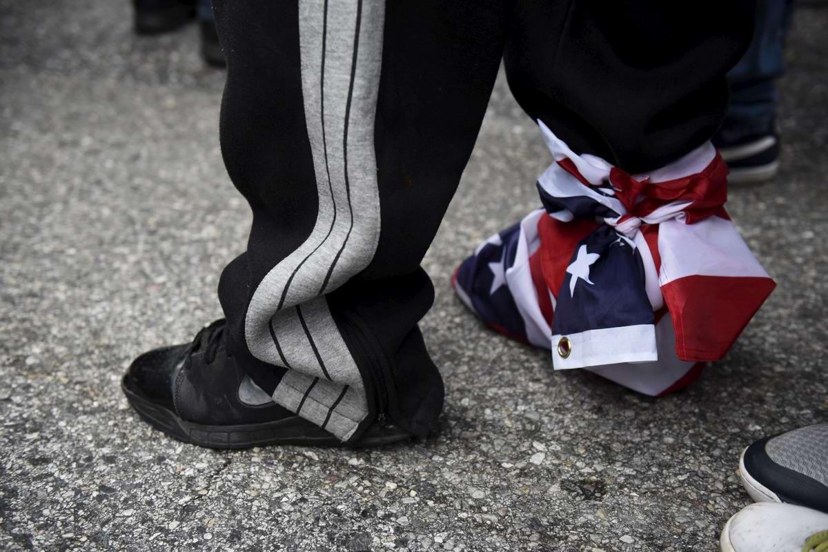 Конец полицейскому государству: Массовые протесты и уличные погромы в Балтиморе (США) (40)
