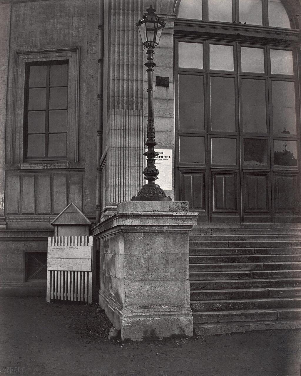 Станция де Ссо городской железной дороги. 1867