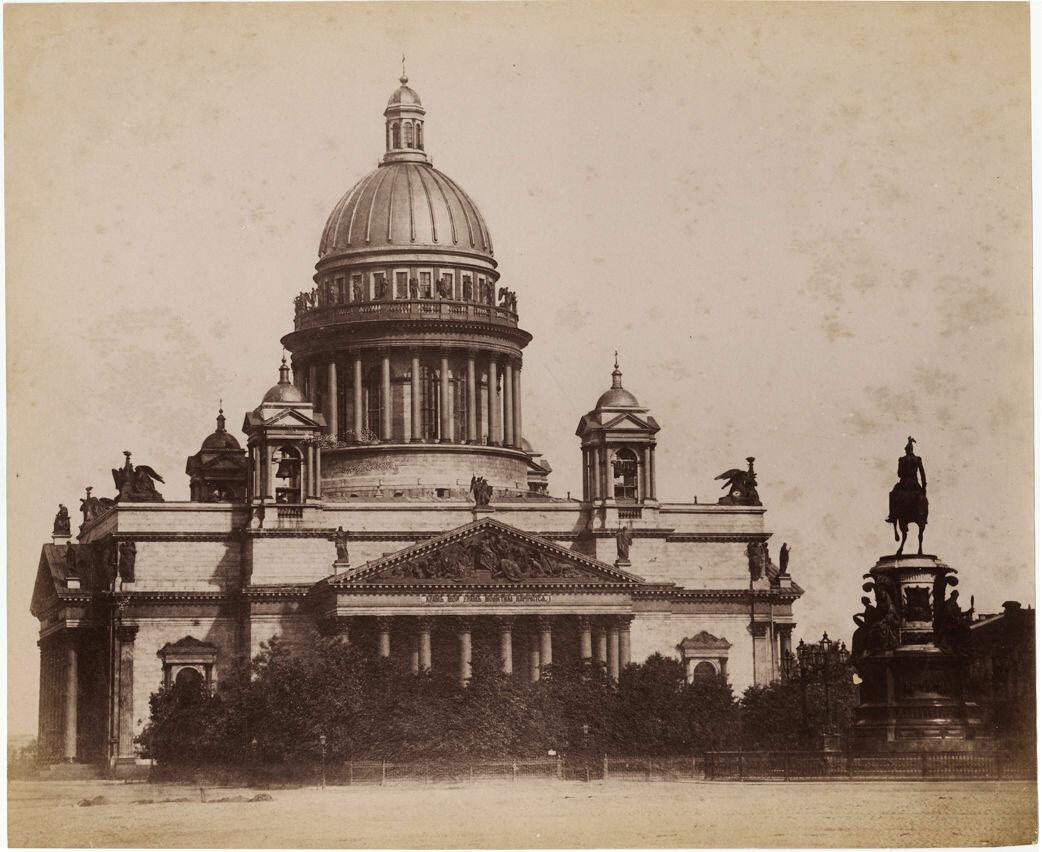 1870. Исаакиевский собор