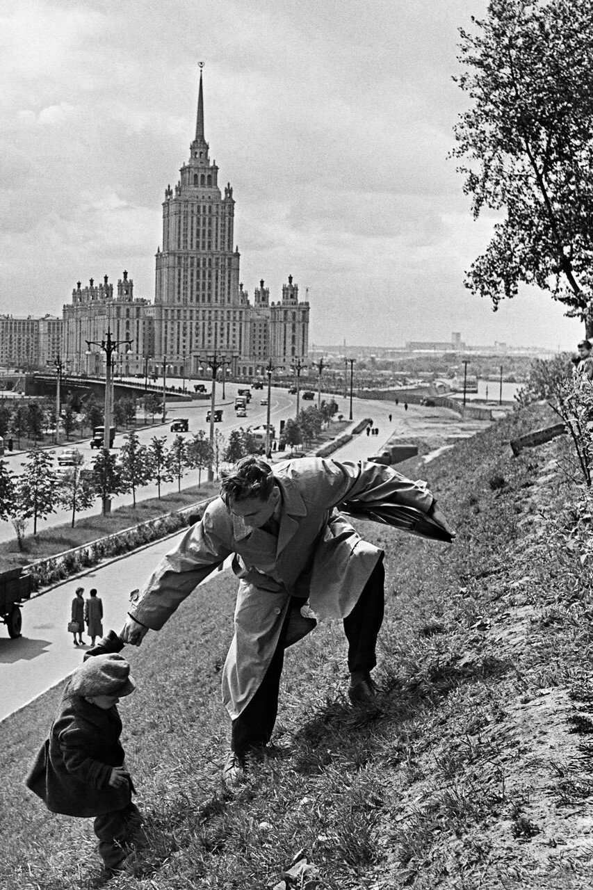 1969. Прогулка по Москве
