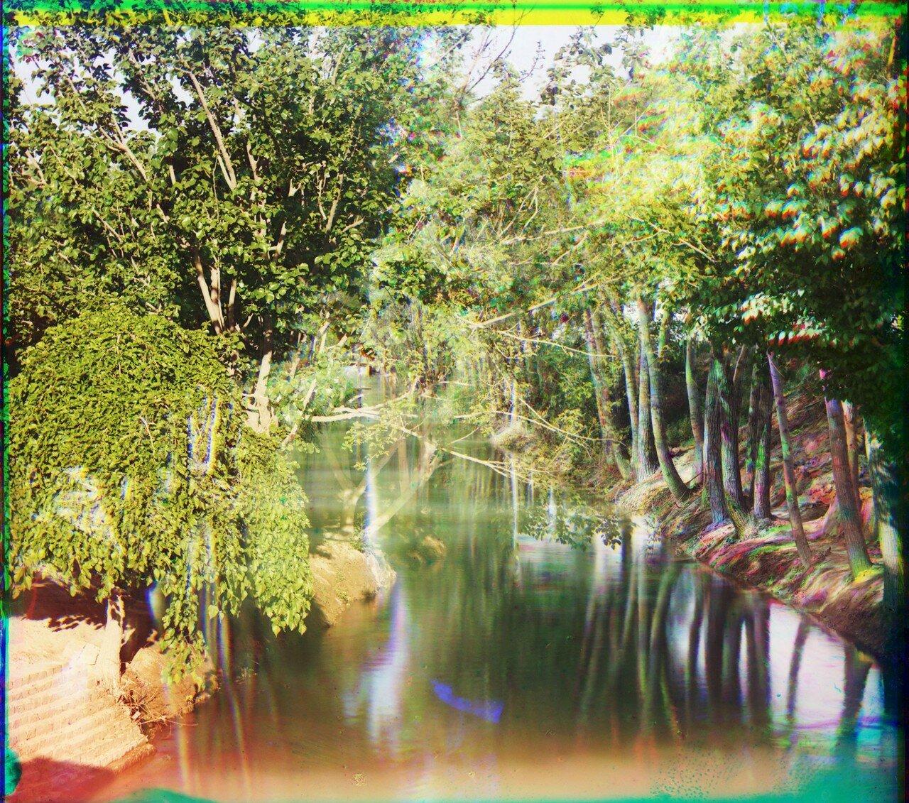 Окрестности Мерва. Байрам-Али. Оросительный канал (арык) в Мургабском имении