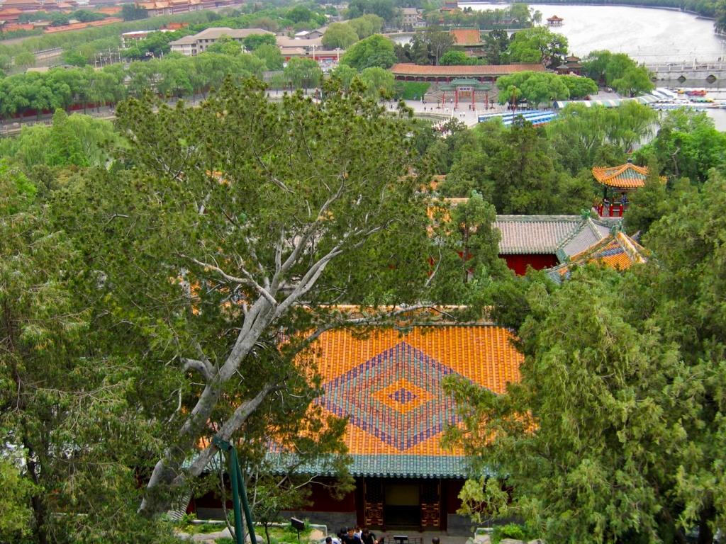 Монастырь Вечного спокойствия, парк Бэйхай, Пекин