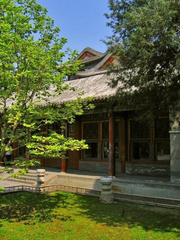 Зал литературы, парк Ихэюань, Летний дворец, Пекин