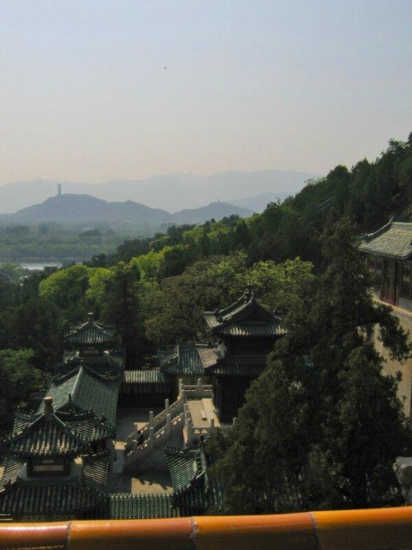 Павильон Драгоценного облака, парк Ихэюань, Пекин