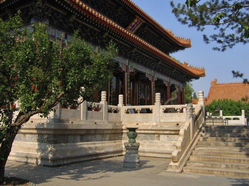 Дворец заоблачных высей, парк Ихэюань, Летний дворец, Пекин