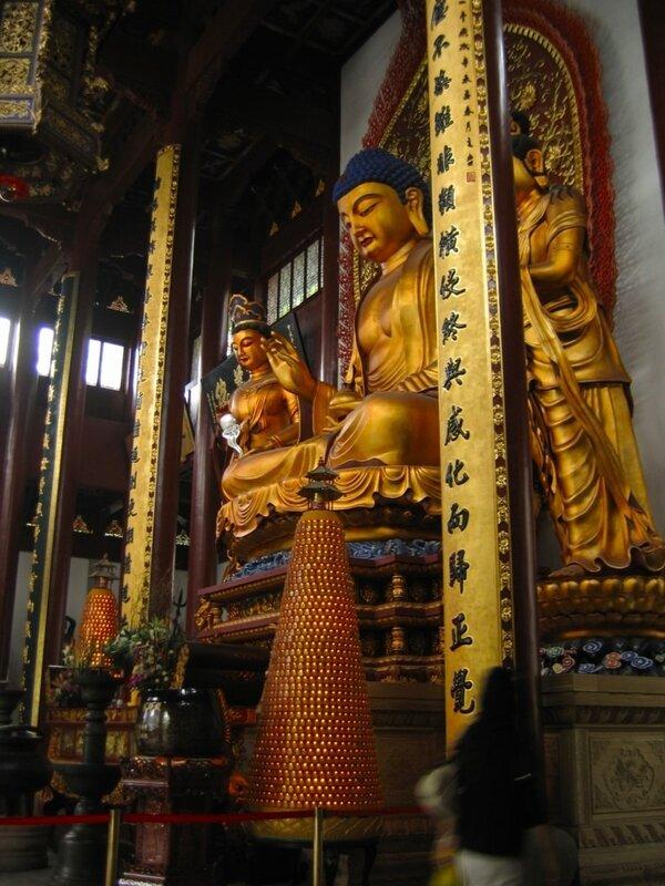 Павильон Исцеляющего Будды, Монастырь Линъиньсы, Ханчжоу
