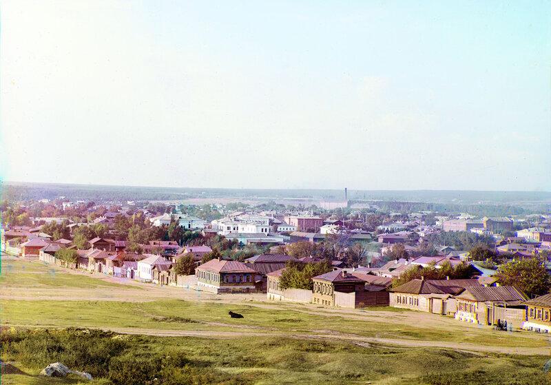 Екатеринбург. Общий вид северной части