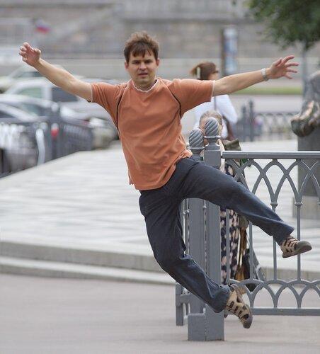 Денис в Москве