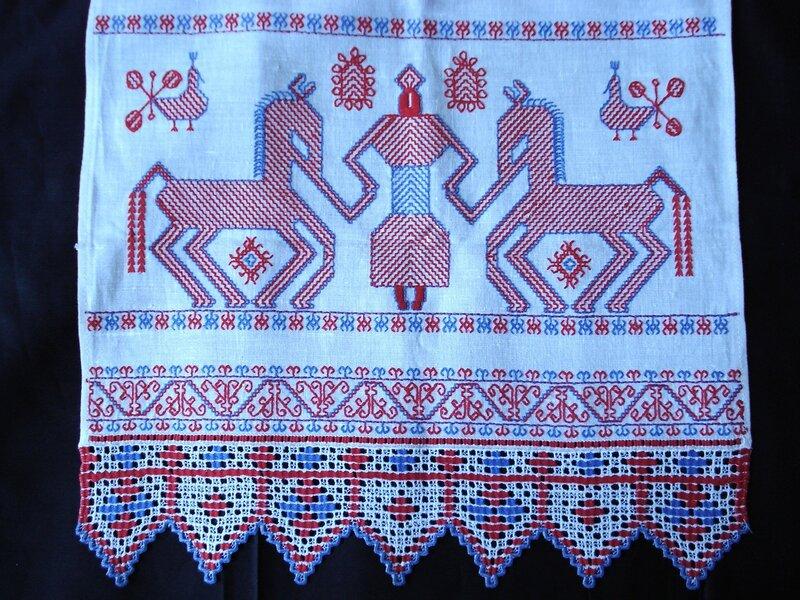 полотенце русское народное картинки как нарисовать шапки