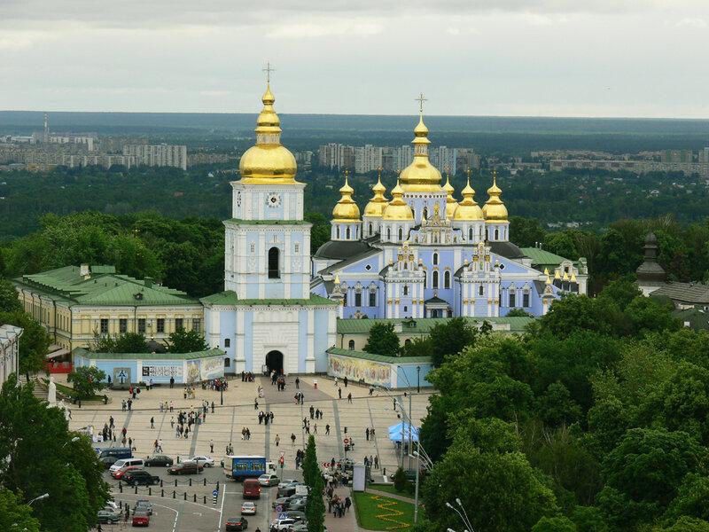 Михайловский собор в киеве!