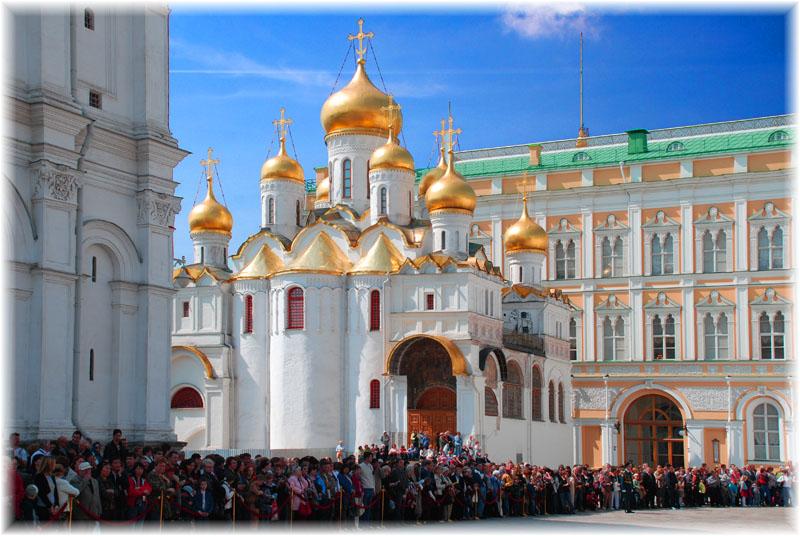 Соборная площадь. Московский Кремль
