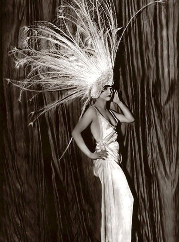 Louise Brooks - Ziegfeld - 1920s by Alfred Cheney Johnston.