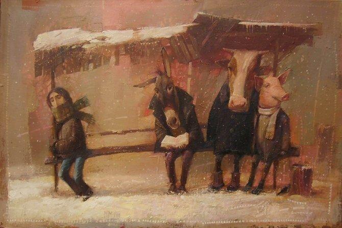 Украинский художник Александр Антонюк