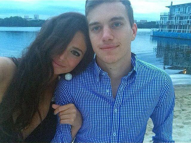 Яна Сухова - девушка вратаря «Спартака» Антона Митрюшкина (Фото)
