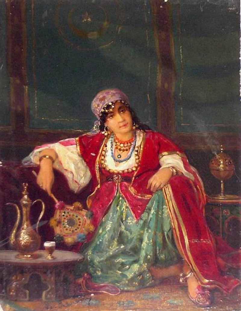«Турчанка» ранее 1902 Екатеринбургский музей изобразительных искусств..jpg
