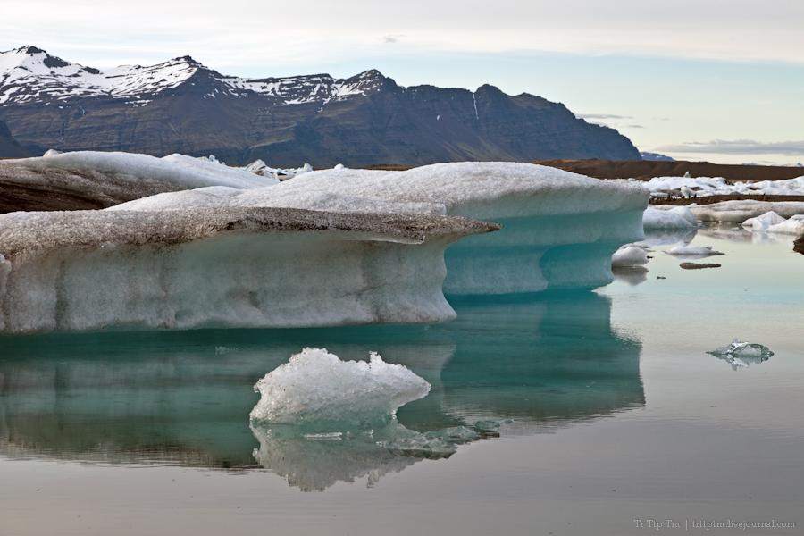 5. Тихий вечер у Ледниковой лагуны.