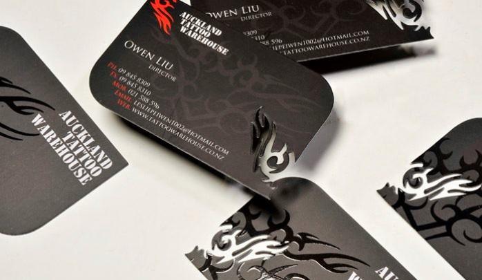 Красивые примеры визиток высокого качества