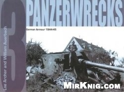Книга Panzerwrecks 3: German Armour 1944-1945