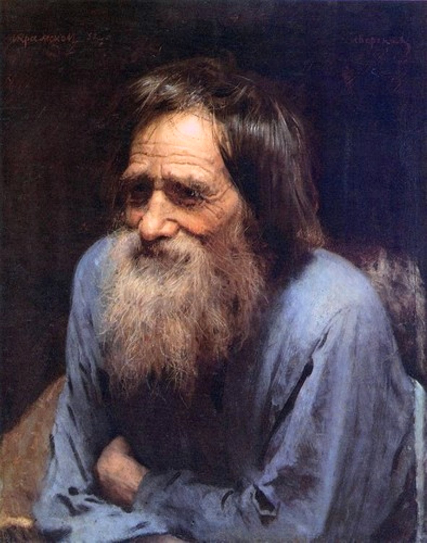 Мина Моисеев - Иван Николаевич Крамской. 1882. Холст, масло. 57х45.jpg