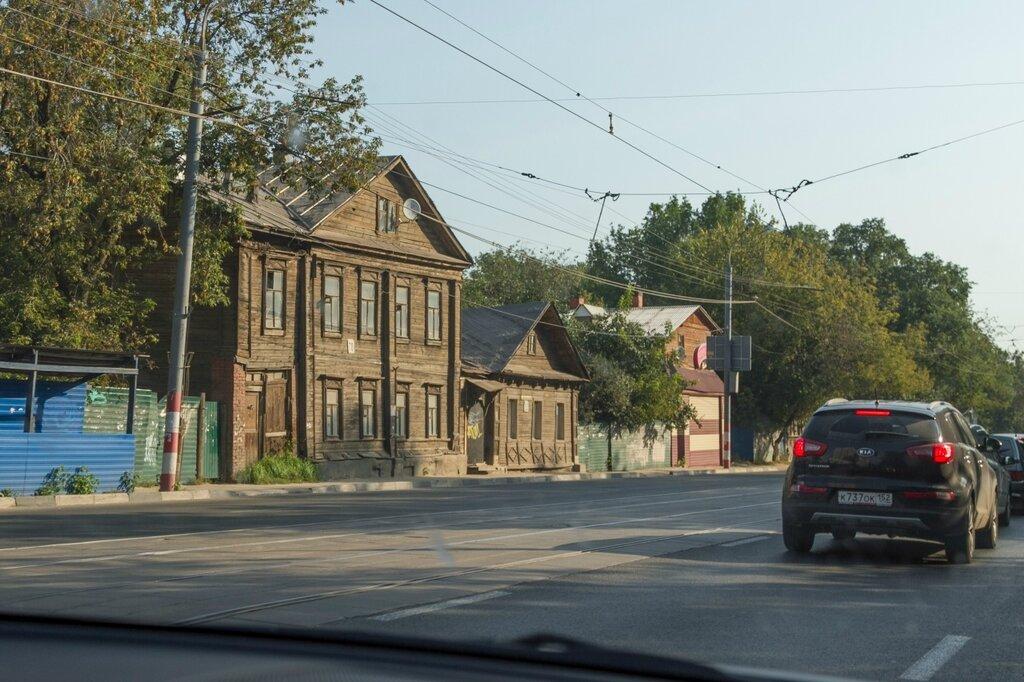 Старые деревянные дома, Нижний Новгород