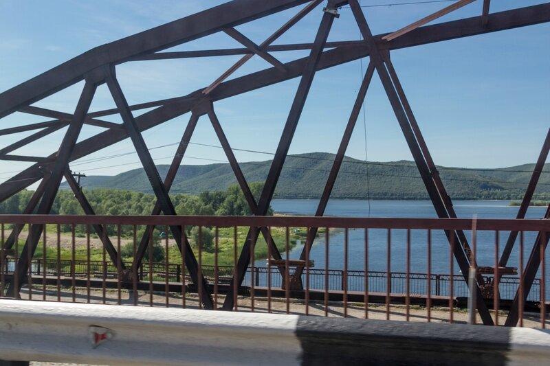 Мост через реку Сок