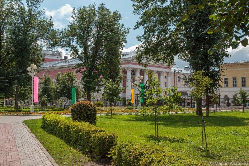 Городской сад, Тверской областной академический театр драмы, Тверб
