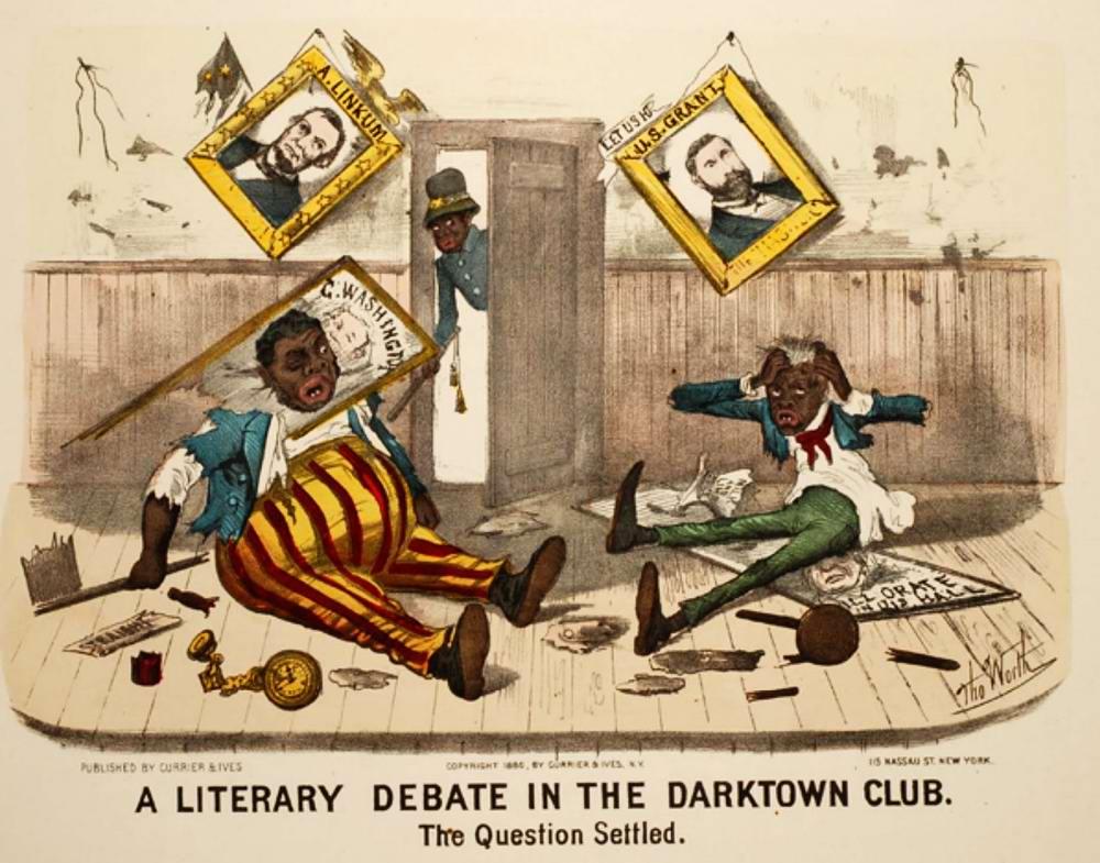 Литературные дебаты в дарктаунском клубе: вопрос урегулирован