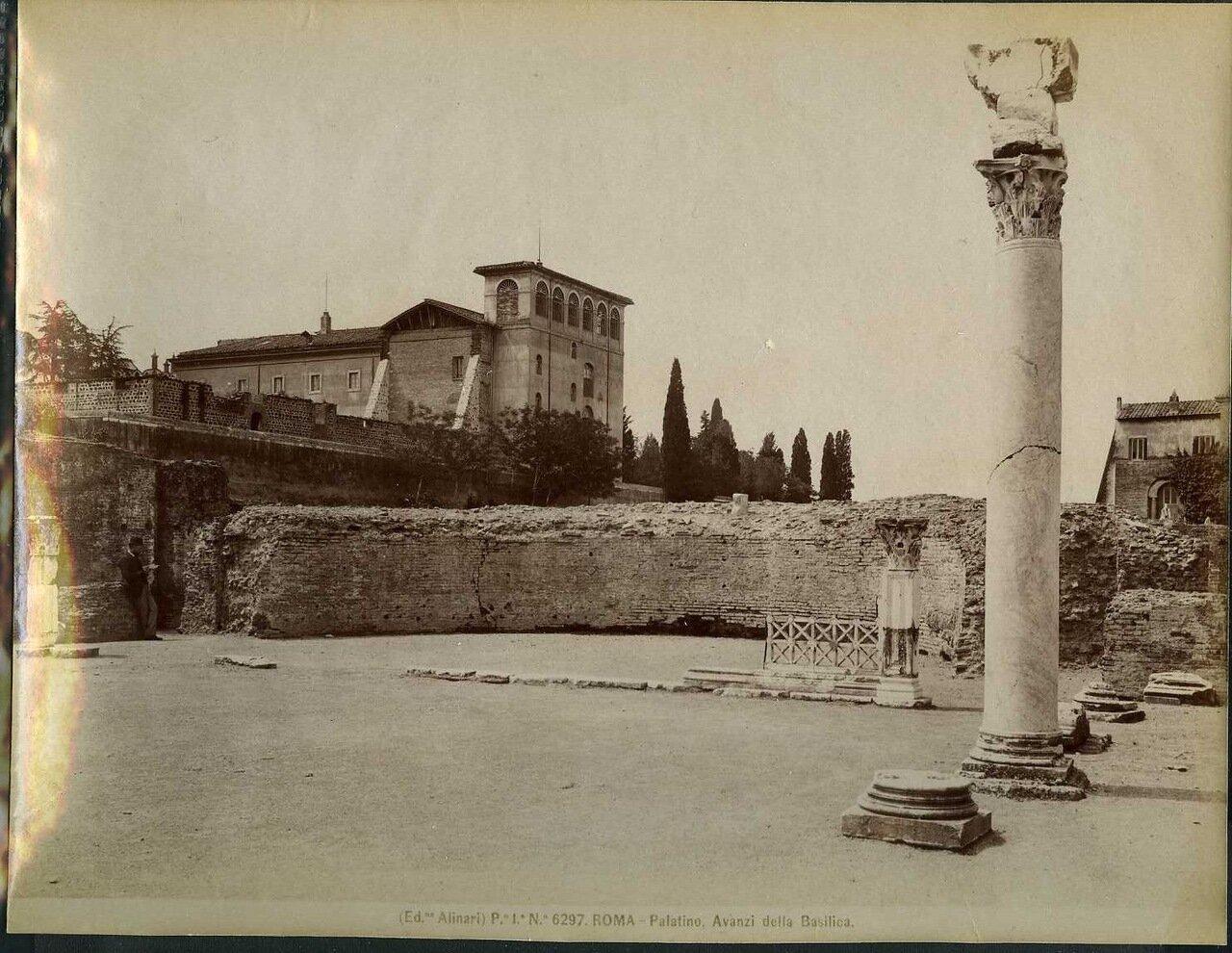 Палатино, вид на Базилику