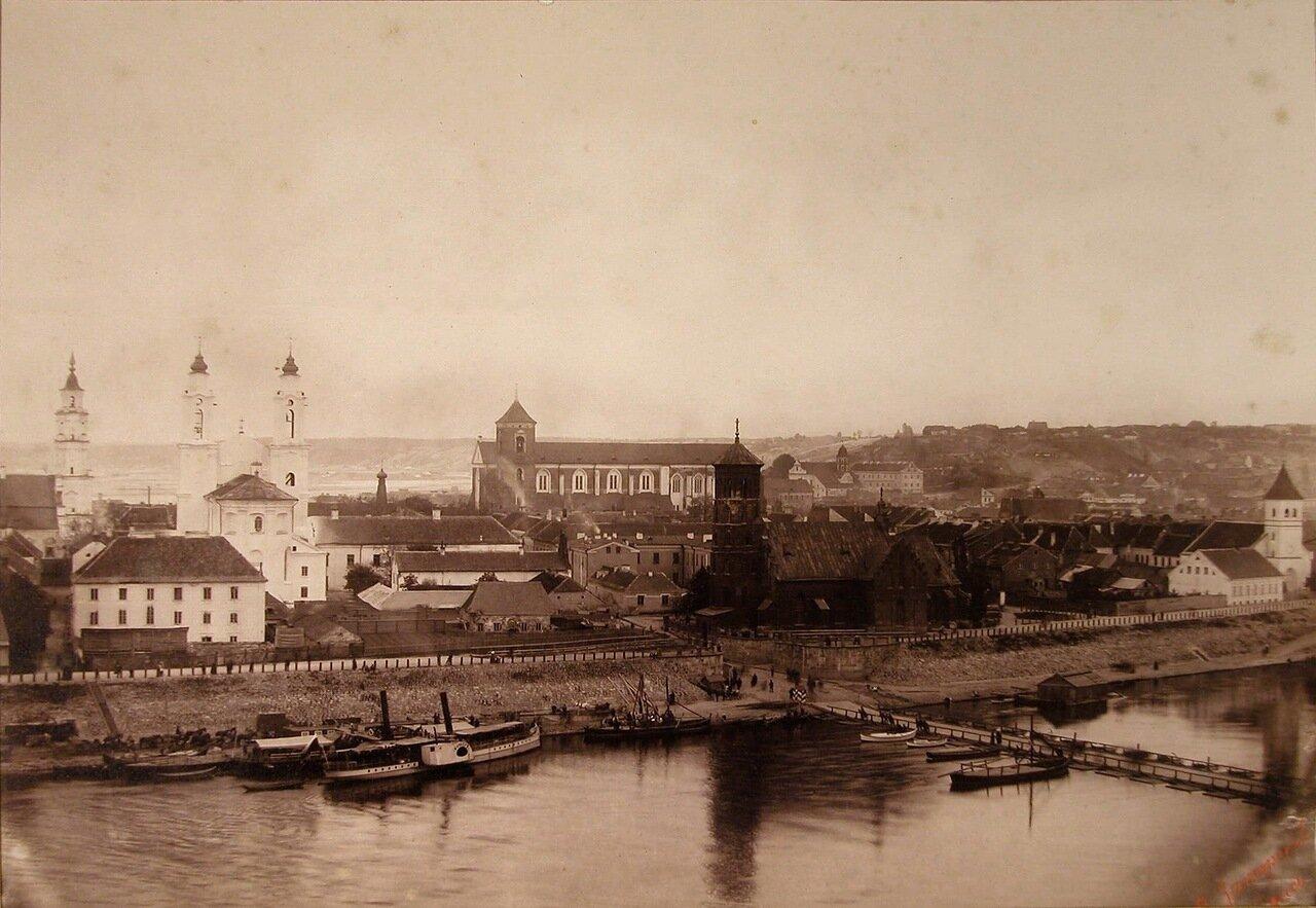 06. Вид домов на набережной реки Неман