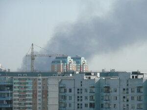 Что - то горит на Рябиновой
