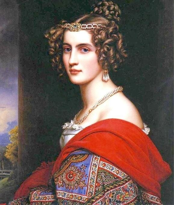 Karl Joseph Stieler, женский портрет