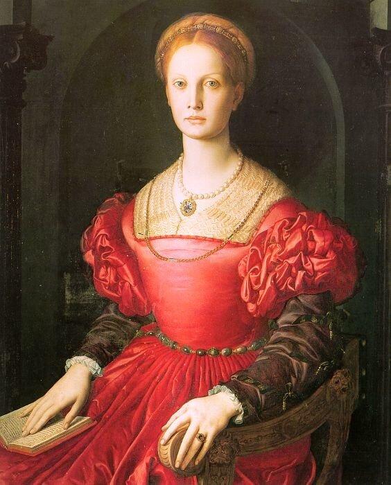 Аньоло Бронзино. Лукреция Панчиатики. 1540