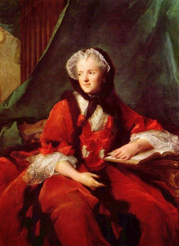 Натье Жан-Марк, Портрет королевы Марии Лещинской