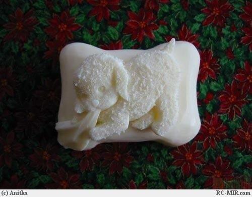 В результате кропотливого труда на свет появляется резное мыло.  Оно является настоящим произведением искусства.