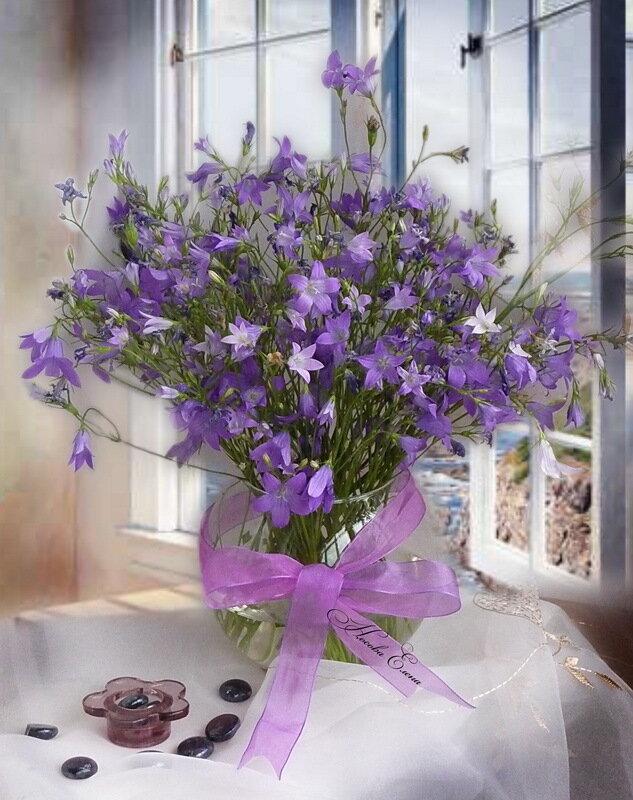 Колокольчики мои, Цветики степные.  Что глядите на меня, Темно-голубые.  И о чем звените вы В день веселый мая...