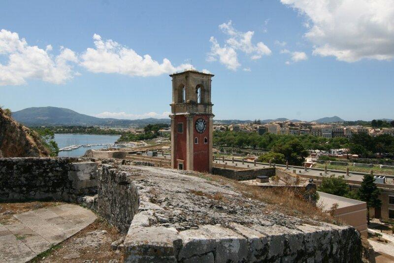Корфу, Вид на Керкиру из Старой крепости