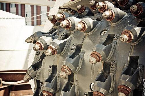 Фрез-барабан стволопроходческой машины VSM 5500/10000 Herrenknecht AG