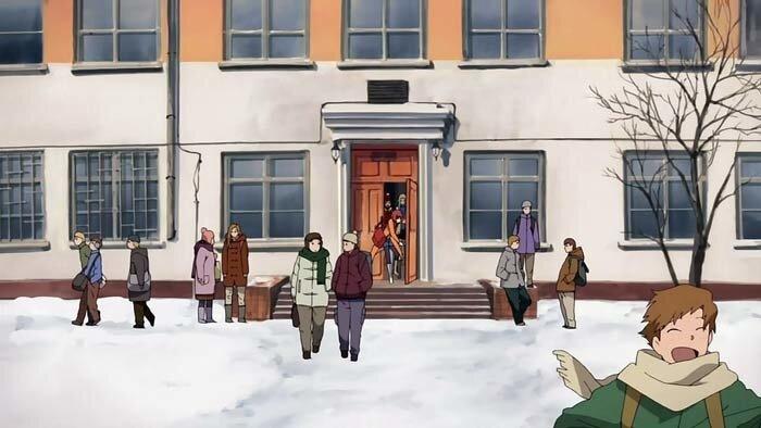 Владивосток, школа 12 из мультфильма