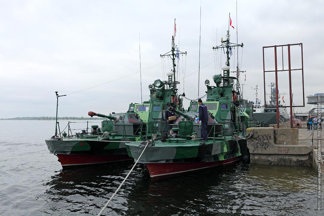 Артиллерийские катера в Волгограде