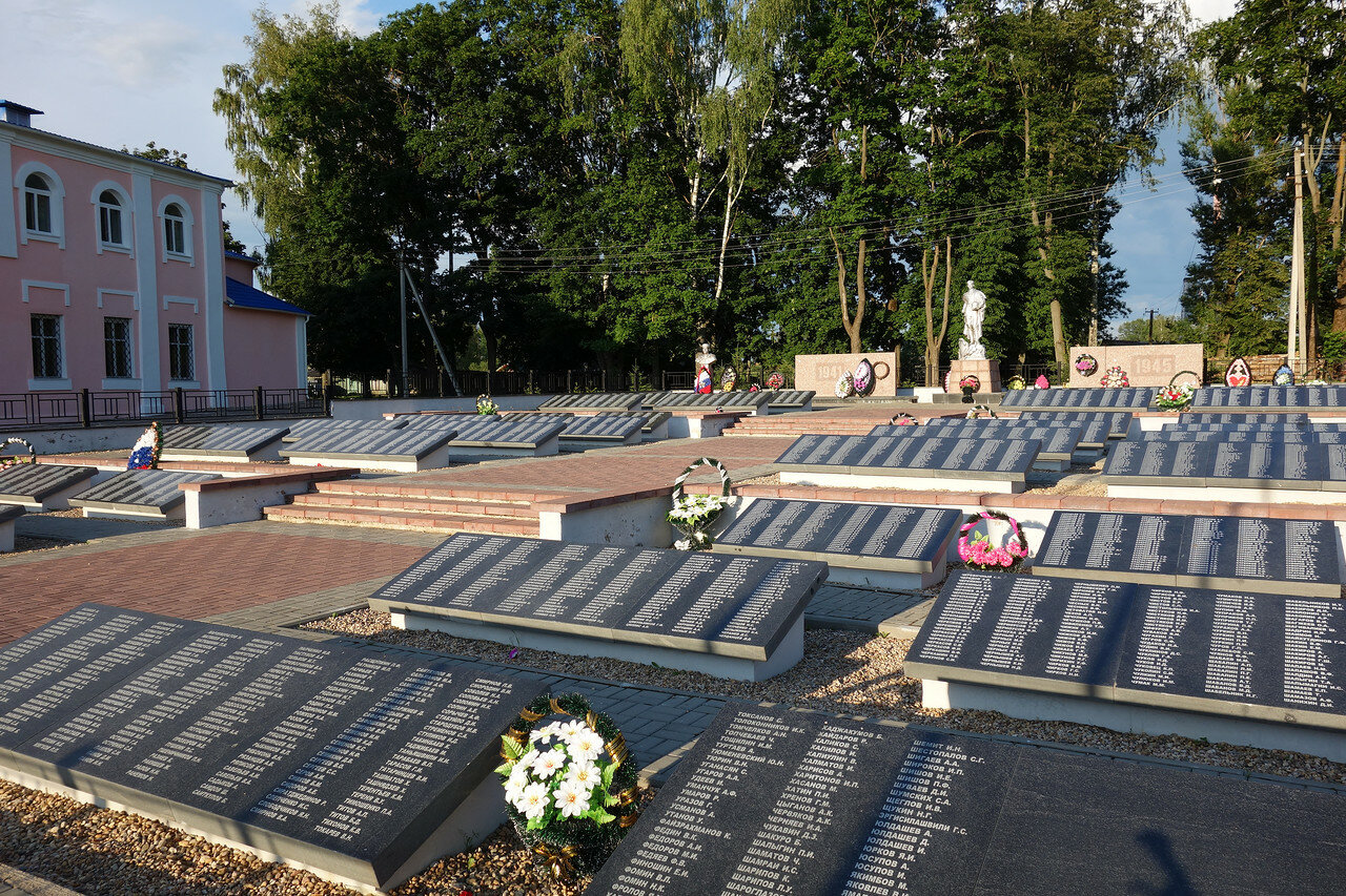 мемориальный комплекс погибшим в ВОВ