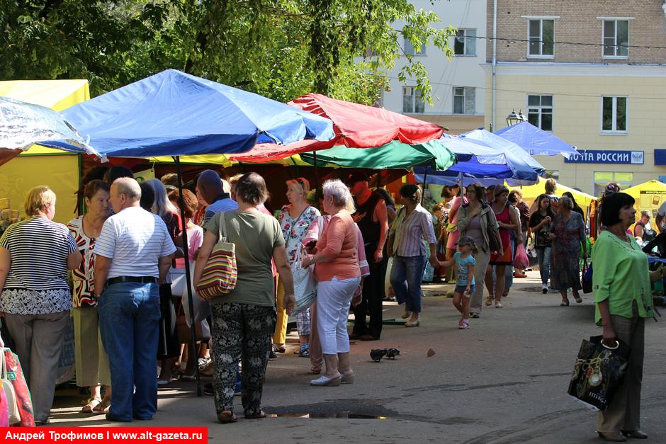 Организация уличной торговли в Сергиевом Посаде