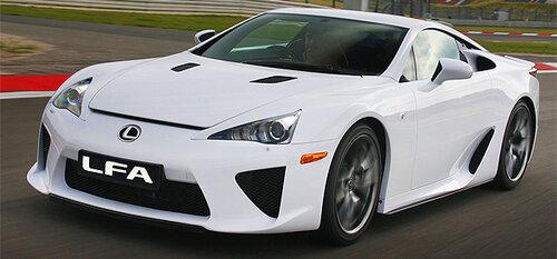 Второго поколения LFA от Lexus не будет