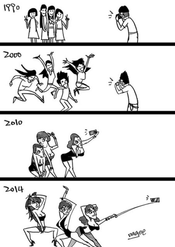 Эволюция группового портрета