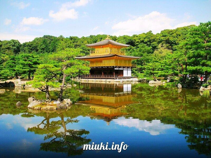 Храм Кинкаку-дзи (Kinkaku-ji Temple)