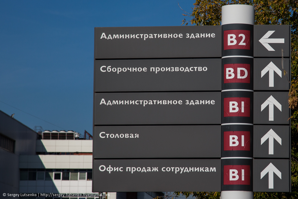 Общая схема завода.